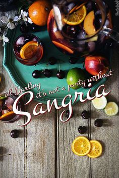 The only Sangria Recipe you will ever need! #cocktail #sangria #recipe