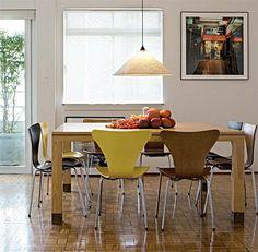 23 composições afinadas de sala de jantar - Casa.com.br
