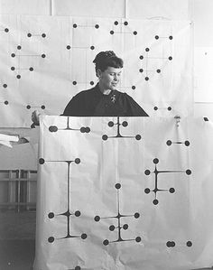 """The """"Dot"""" Pattern that defines a generation - Ray Eames - 1947"""
