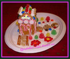 milk carton gingerbread houses graham crackers - Google Search