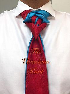 Knot by Boris Mocka Cool Tie Knots, Cool Ties, Mens Hottest Fashion, Mens Fashion Suits, Tie A Necktie, Necktie Knots, Well Dressed Men, Sharp Dressed Man, Different Tie Knots