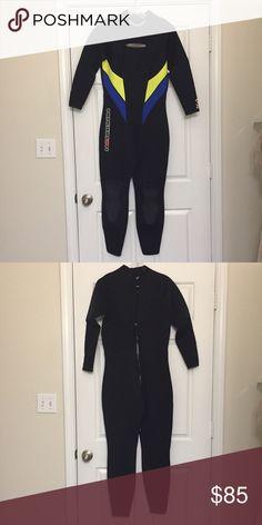 Henderson Women's 3mm Jumpsuit Neoprene Lycra Trim GBS-Glued & Blindstiched Seams Back Zip Adjustable Collar Freedom Flex Knee Pads Spine Pad/Zipper Seal, Excellent Multi-Sport Wetsuit Other