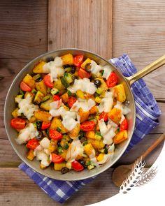 C'est l'automne, on privilégie les plats réconfortants qu'on adore partager en famille comme cette poêlée de pommes de terre et de légumes au Fol Epi fondant !