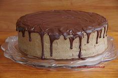 Tort kawowy z bezą orzechową - :: www.zapraszamnaciastka.pl :: Tiramisu, Good Food, Food And Drink, Sweets, Baking, Ethnic Recipes, Cakes, Kitchens, Food And Drinks