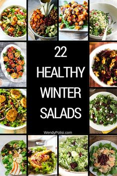 This collection of healthy winter salads is a great way to keep your nutrition on track! As strange as it may sound, I'm glad it is time to lighten things up when it comes to my meal plans. I don't know about you, but my holiday season got a little out of control when it...