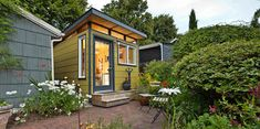 Modern-Shed - A Seattle based company that makes tiny sheds (all with similar roof design/no loft).   8x10' starts at $6900