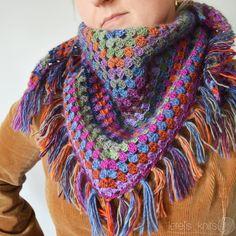 Crochet Shawl | Lete's Knits scialle