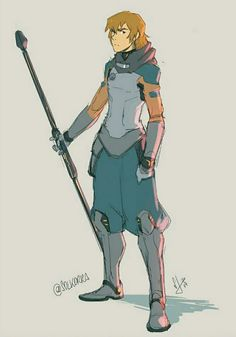 Matt Holt the Warrior and Brother of Pidge from Voltron Legendary Defender