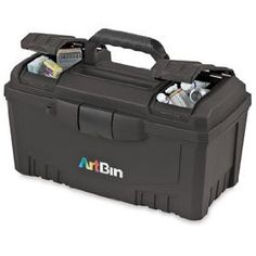 ArtBin Twin Top Storage Box - Twin Top Storage Box, Original, Black