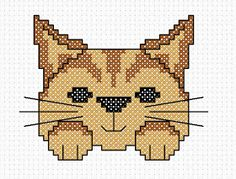 FREE Pattern - 'Ginger the Cat'
