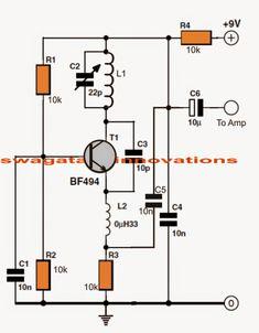 Fm Receiver Circuit Diagram Project | Simple Fm Radio Circuit With Speaker Electronics Circuit