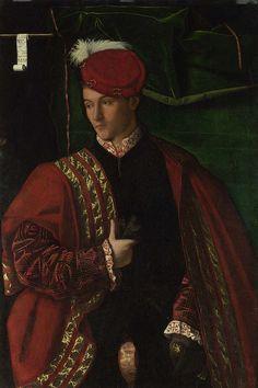 Lodovico Martinengo 1530, Bartolomeo Veneto. National Gallery, London by renzodionigi, via Flickr