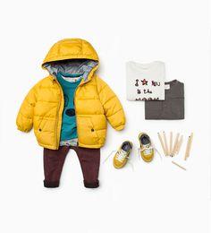-Shop by look-baby boy 3 months - 3 years-kids zara united states. Little Boy Fashion, Kids Fashion Boy, Toddler Fashion, Boys Summer Outfits, Toddler Outfits, Baby Boy Outfits, Boys Winter Clothes, Cute Baby Clothes, Toddler Boys