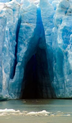Grey Glacier, Patagonia Torres del Paine National Park. It's part of our Paine Circuit & W trek