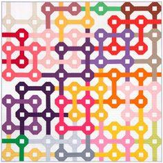 Tangled ~ A Free Pattern: Robert Kaufman Fabric Company