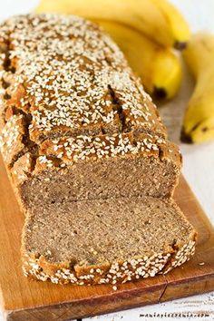 Gluten Free Banana Bread, Healthy Banana Bread, Polish Recipes, Gluten Free Cakes, Egg Free, Sin Gluten, Bread Recipes, Food And Drink, Healthy Recipes