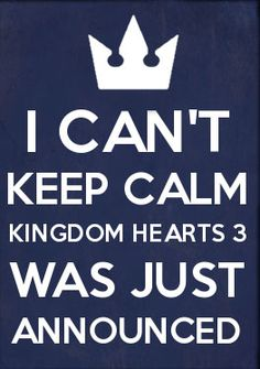 About damn time I saw a KH3 pin on pinterest.