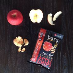 From farm to mouth. Love, bare #glutenfree #nonGMO #organic #freshfood #nature #vegan #baresnacks #applechips