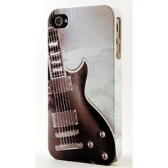 N and White Electric Guitar Dimensional iPhone Case