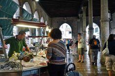 A Visit to the Rialto Market in Venice, Italy