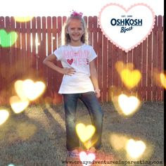 "Blogger @Lisa Phillips-Barton Douglas purchased this ""Mommy Loves Me"" graphic tee and coordinating necklace and bracelet from #oshkoshbgosh."