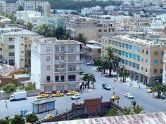 Asmara, Eritrea. Eritrea is near the Red Sea.