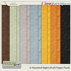 A Haunted Night [Kraft Paper Pack]