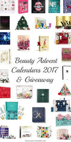 BEAUTY ADVENT CALENDARS 2017 & GIVEAWAY