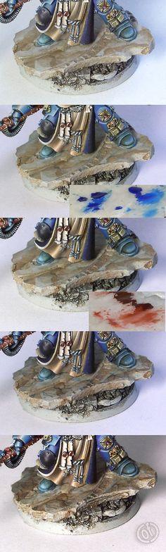 Tortellinux :: modellismo  » Blog Archive   » Dipingere il marmo (di Ańa)