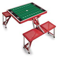 Georgia Bulldogs Football Field Folding Picnic Table