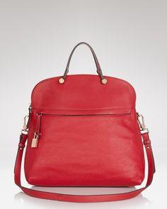 Furla Satchel - Piper M Bugatti-Bloomingdale's #Handbag #Red