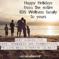 Happy New Year from the Entire EDS Wellness Team!  EDS Wellness was incorporated as a nonprofit in February 2016 and we received our 501(c)(3) status a few months later. Even though we only became an official 501(c)(3) nonprofit organization in 2016 the projects that we've been involved in have extended over the last 10 years. Developing EDS Wellness has been a deliberate and methodical 5-year project -- one that built the solid foundation that we are currently standing on as we end 2016 and…