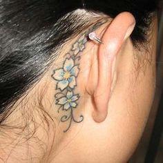 Flowers Behind The Ear