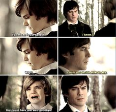 #TVD 6x15 ~ young Stefan and Damon when their mother died