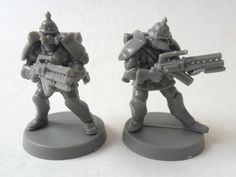 WARZONE: Bauhaus & Imperial Soldiers Imperial Guard Wargaming Warhammer 40k