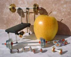 Miniature Weight Sets and Equipment and Fitness Gifts