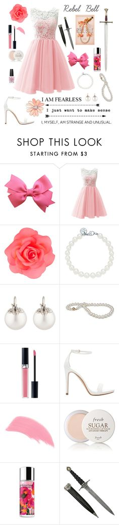 """""""Rebel Belle """" by oliviak267 ❤ liked on Polyvore featuring Accessorize, Tiffany & Co., Samira 13, Christian Dior, Zara, Stila, Fresh, S.W.O.R.D., Clinique and OPI"""