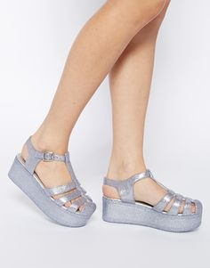 ASOS HAPPY Flatform Jelly Shoes -- SOLD OUT OF MY SIZE!!! :-(