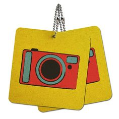Camera Travel Picture Wood MDF 4' x 4' Mini Signs Gift Tags *** Find out more about the great product at the image link.