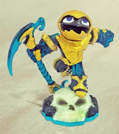 The Grim Creeper is considered one of the best reapers ever to swing a scythe! He's only available at Toys R Us.