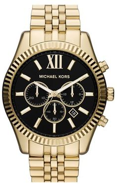 Gold Watch by MICHAEL Michael Kors. Buy for $275 from Nordstrom