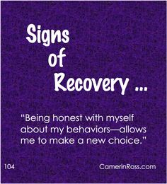 Image result for honesty in recovery