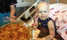 2-Year-Old Cancer Patient Asks for Pizza