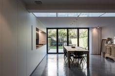 STAM architecten — Woning GOOS Open Plan, Divider, Patio, Room, Furniture, Home Decor, Reno Ideas, Arquitetura, Home