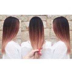 Ombré hair sur base brune : la couleur qui cartonne en 2016 - 54 photos…