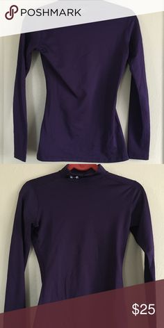 44d664a19f9 Shop Women s Under Armour Purple size S Tees - Long Sleeve at a discounted  price at Poshmark. Description  Insulated long sleeve Under Armour Coolgear  ...