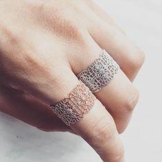 """@beuniki on Instagram: """"Lace ring www.beuniki.com """""""