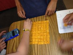 Square Roots with Cheez-Its and a Graphic Organizer   I Speak Math