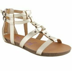 cc771c071494 Blowfish Gold Gotten Sandal Size 8.5 Bnib Shoe Brands