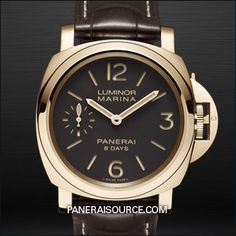 PAM 511 Panerai Luminor Marina 8 Days Oro Rosso - Historic PAM00511